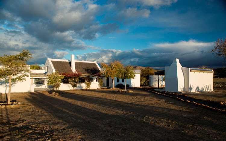 The old farmhouse at Tankwa River Lodge has been transformed into a stylish villa for holidaying families and friends. Picture: DAVID ROSS/PERFECT HIDEAWAYS