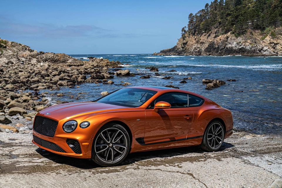 Bentley V8-powered Continental GT Convertible