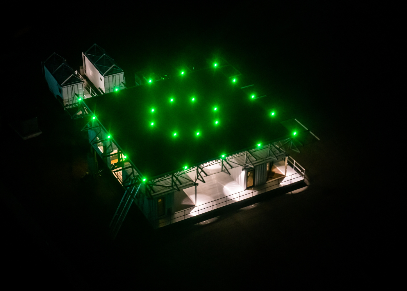 Beta Technologies charging station helipad