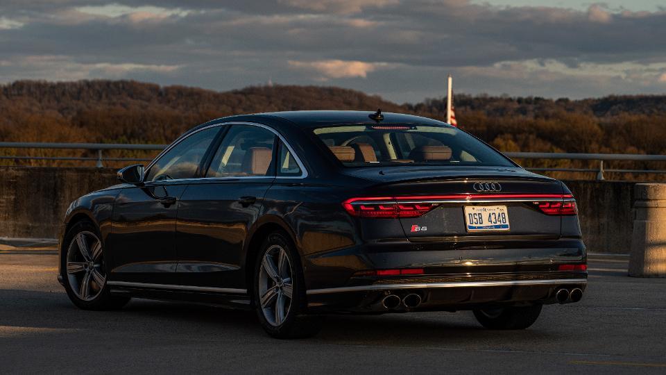 Audi's S8 performance sedan.