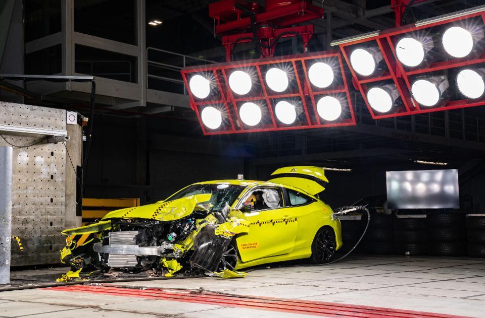 Crash test at Honda's Ohio R&D Center
