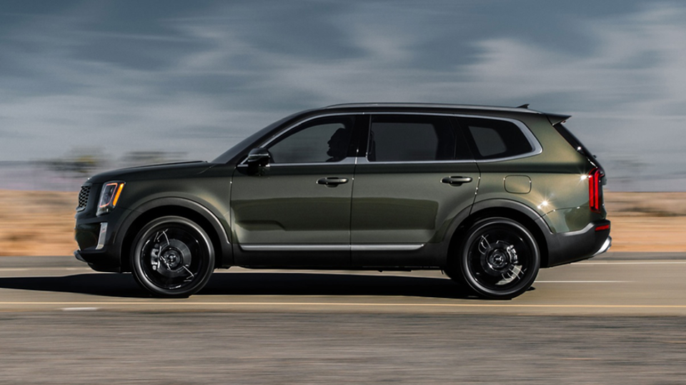 The Kia Telluride, which won World Car of the Year.