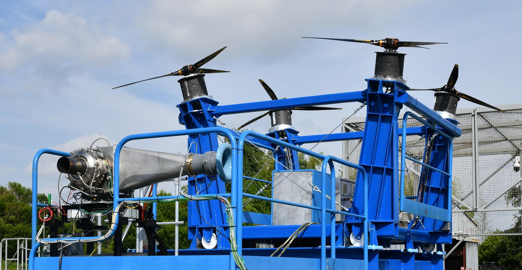 Safran hybrid electric power system