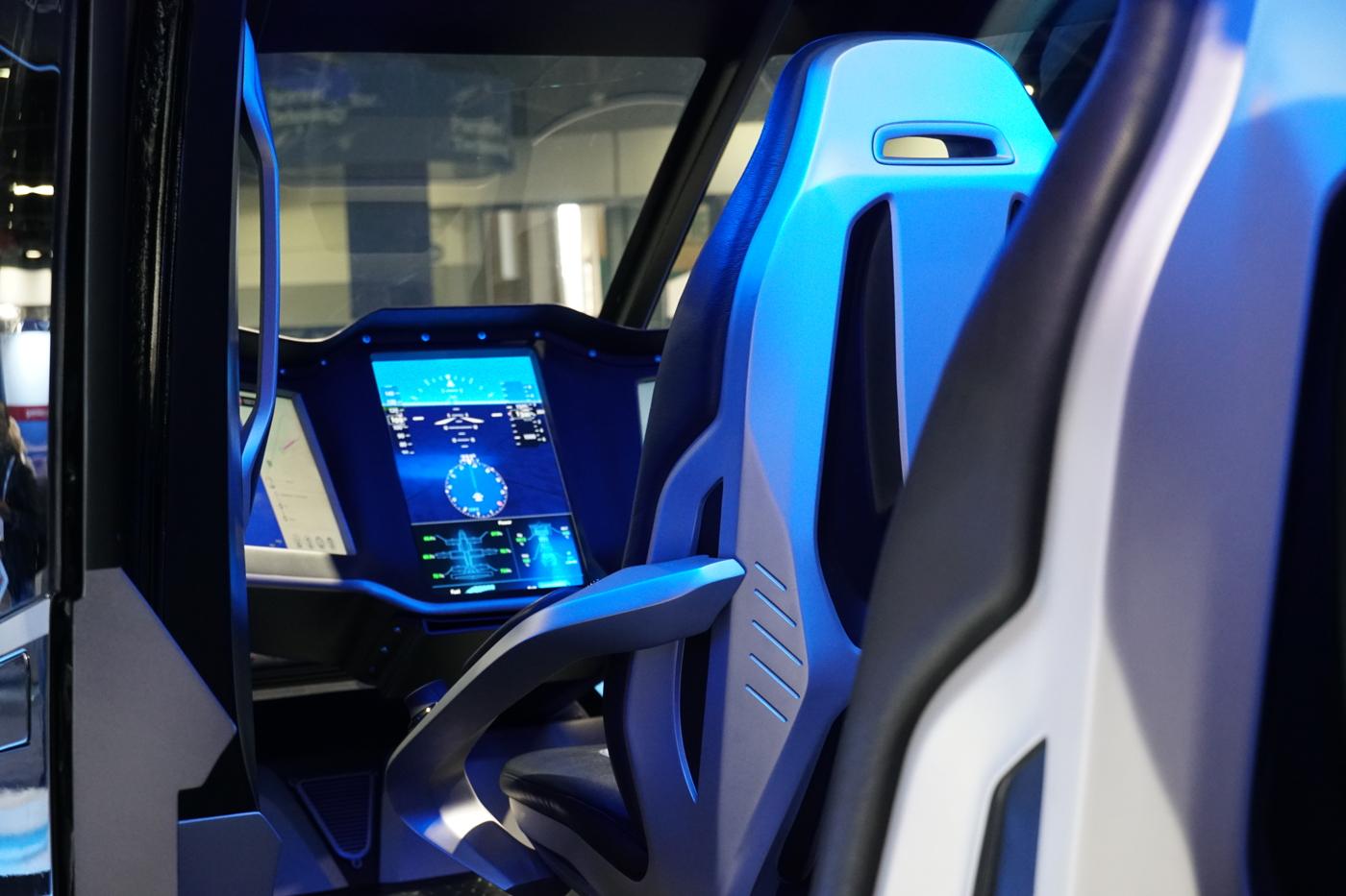 Bell Nexus cockpit