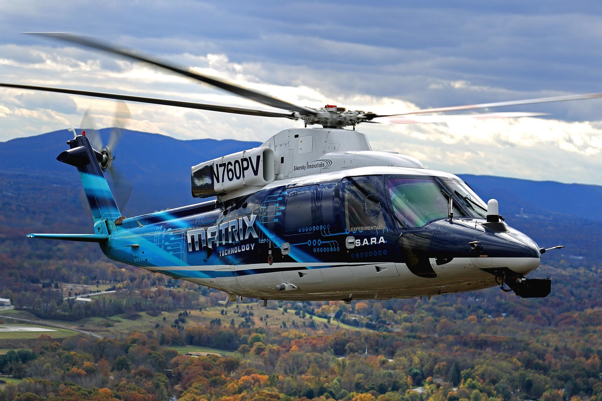 Sikorsky SARA with Matrix technology