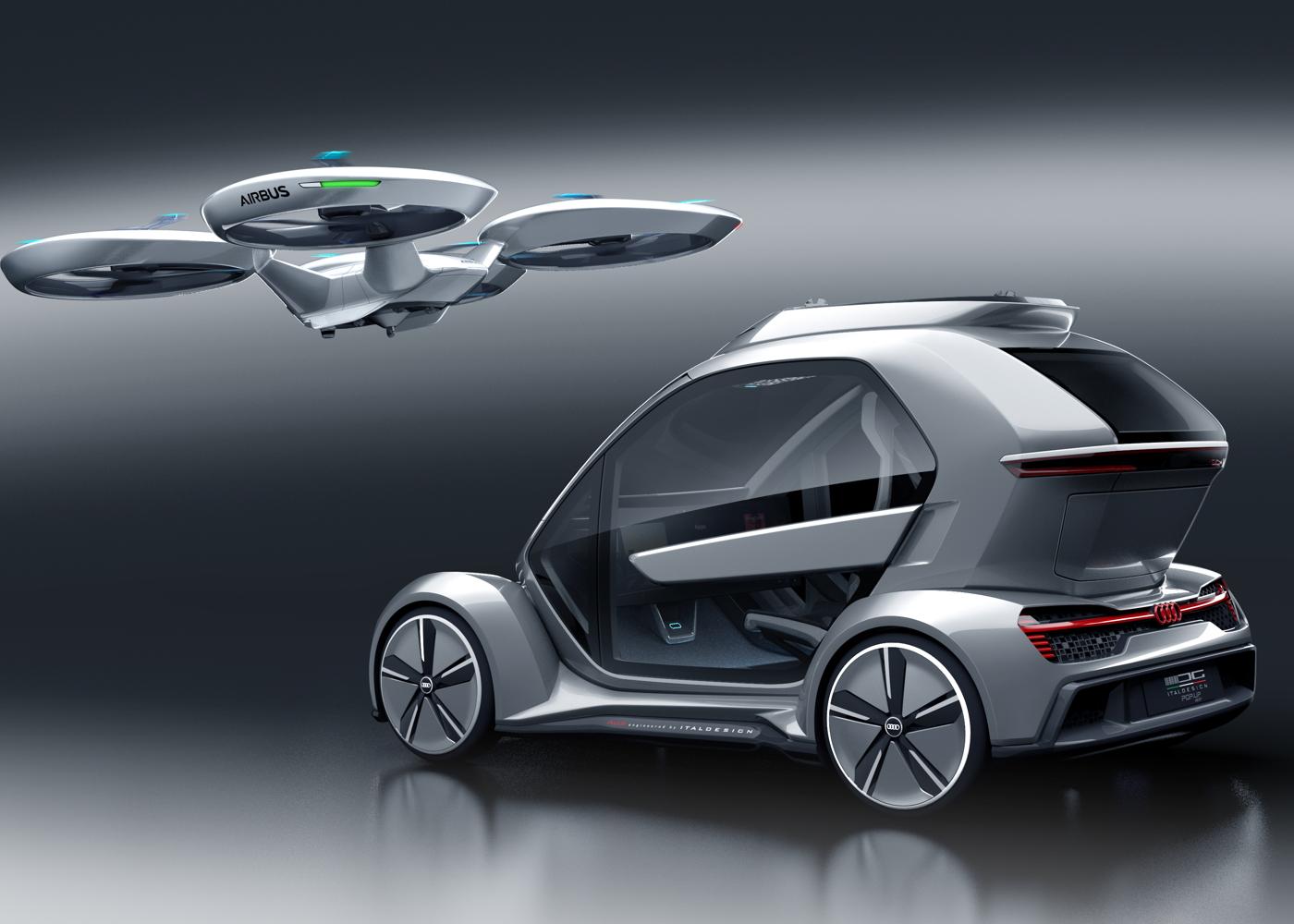 Airbus, Audi and Italdesign Pop.Up Next