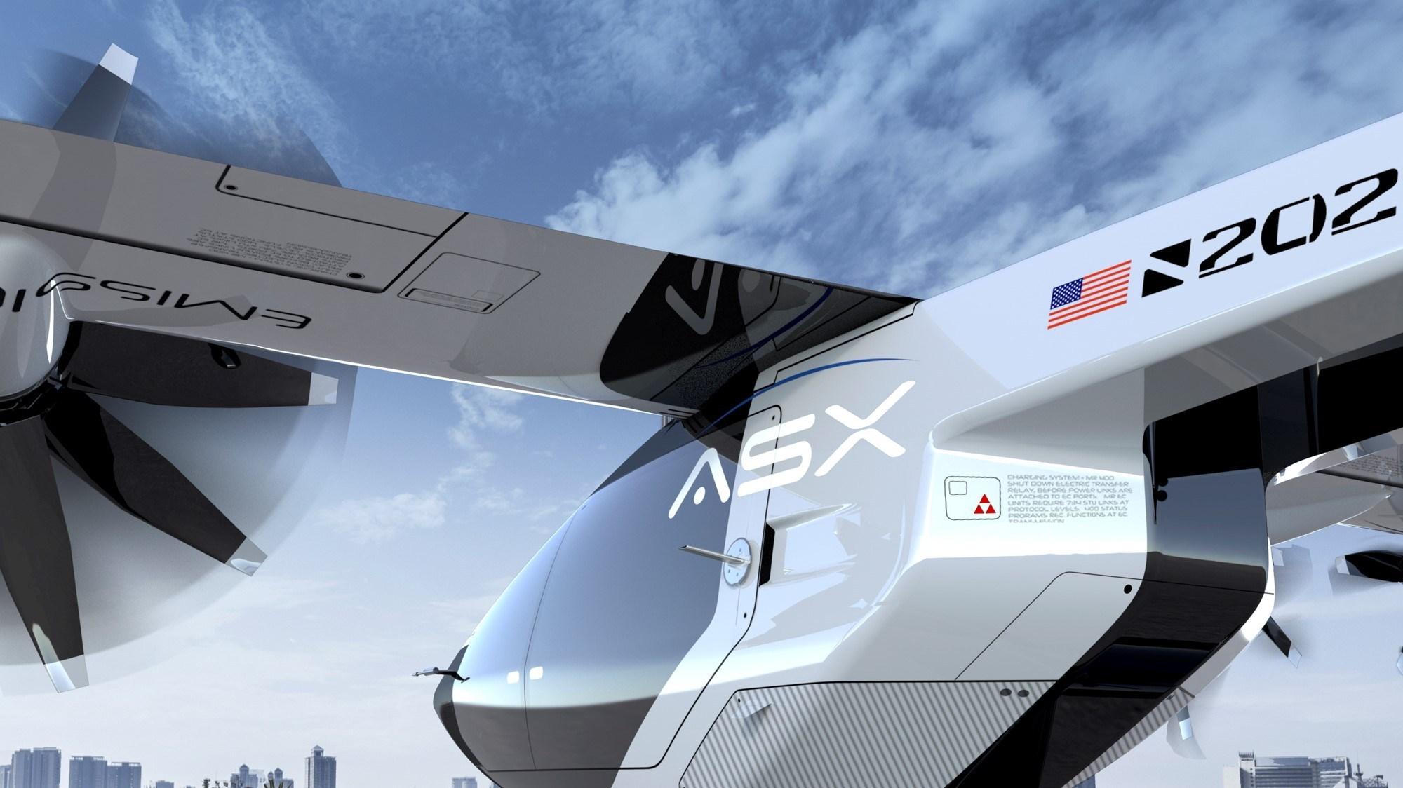 ASX MOBi-One air taxi