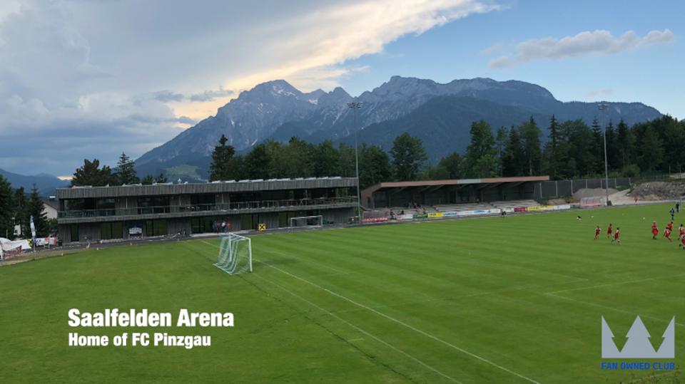Saalfelden Arena, home of FC Pinzgau