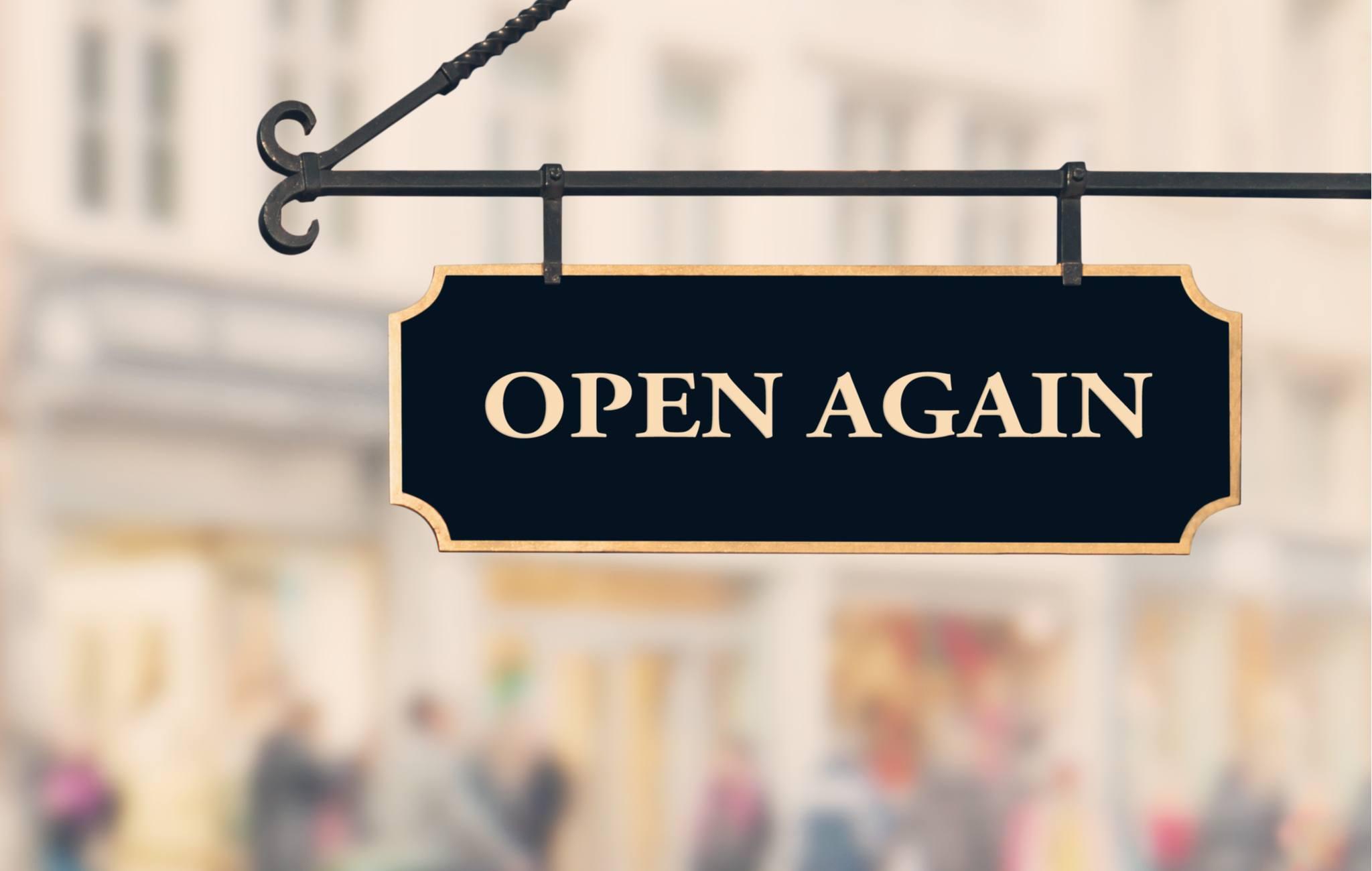 open again