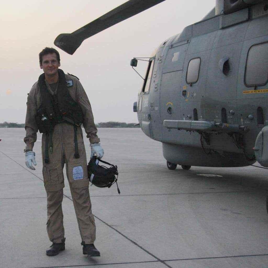 Ben Hartley, Pilot Royal Navy, Rogue One