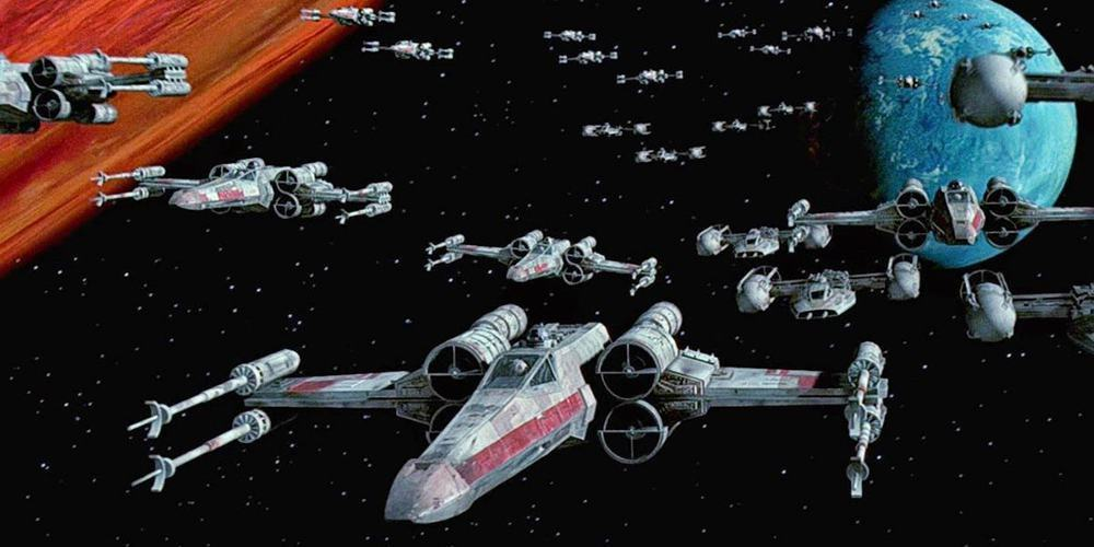 Rogue One, A New Hope, X-wings
