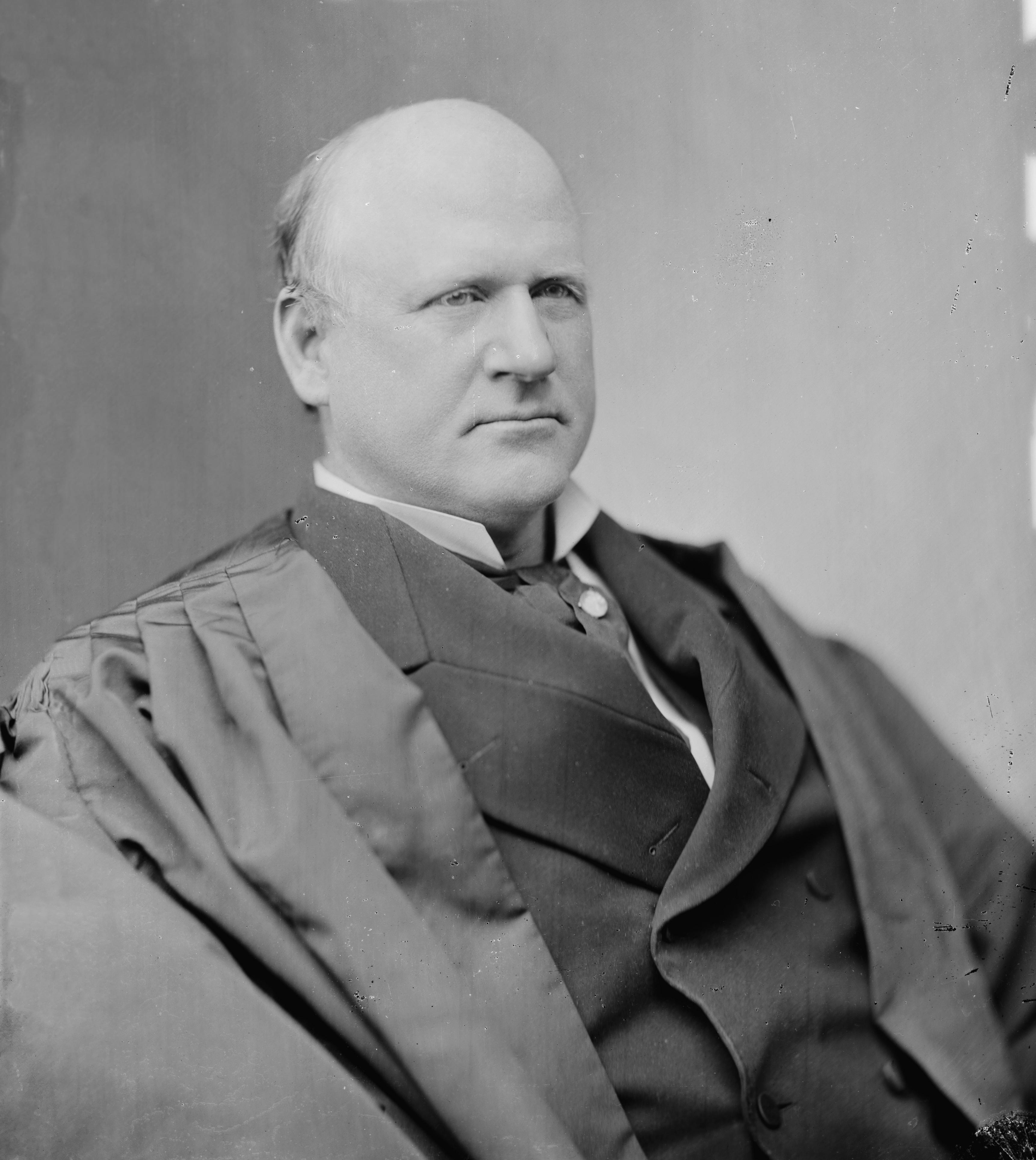 Supreme Court Justice John Marshall Harlan.
