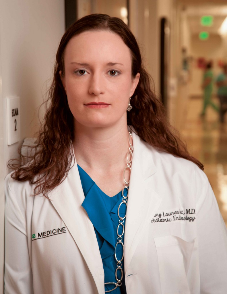 Dr. Mary Lauren Scott, a pediatric endocrinologist with Children's Health System.