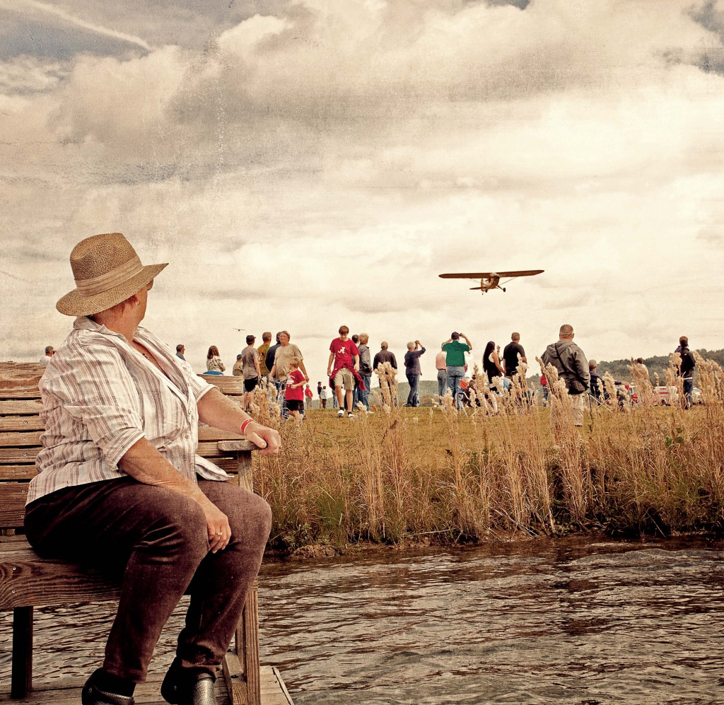 Airshow lady