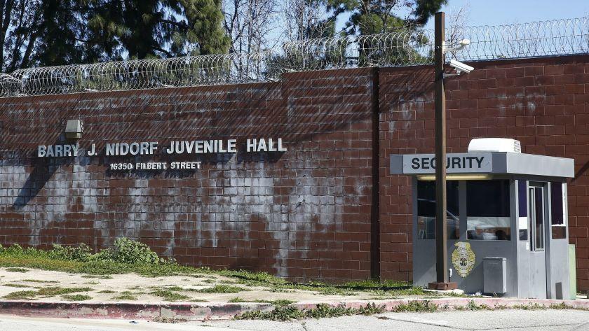 The Barry J. Nidorf Juvenile Hall in Sylmar.