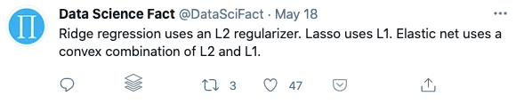 Data Science Fact Twitter