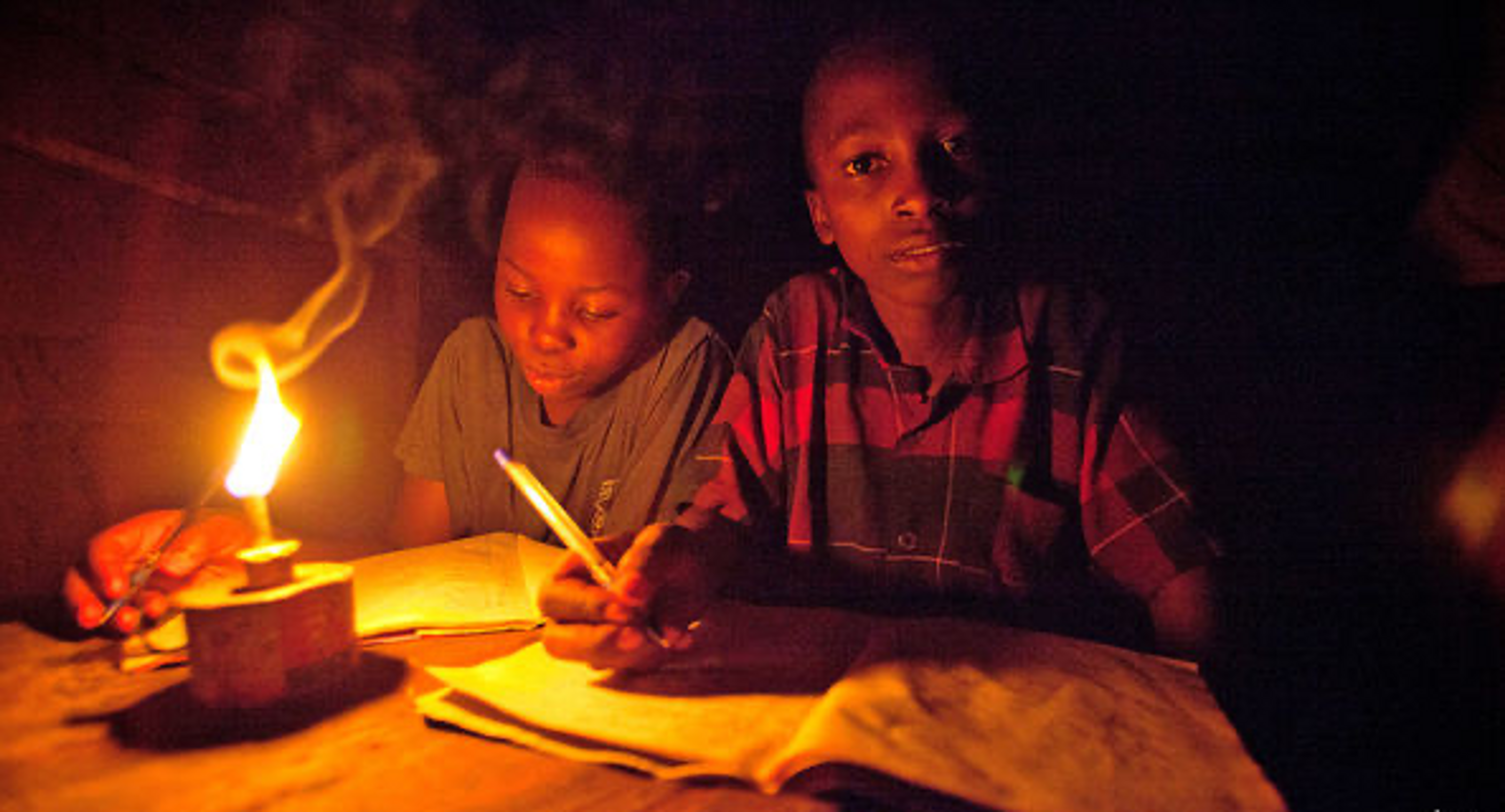 Some 1.2 billion people have no access to power