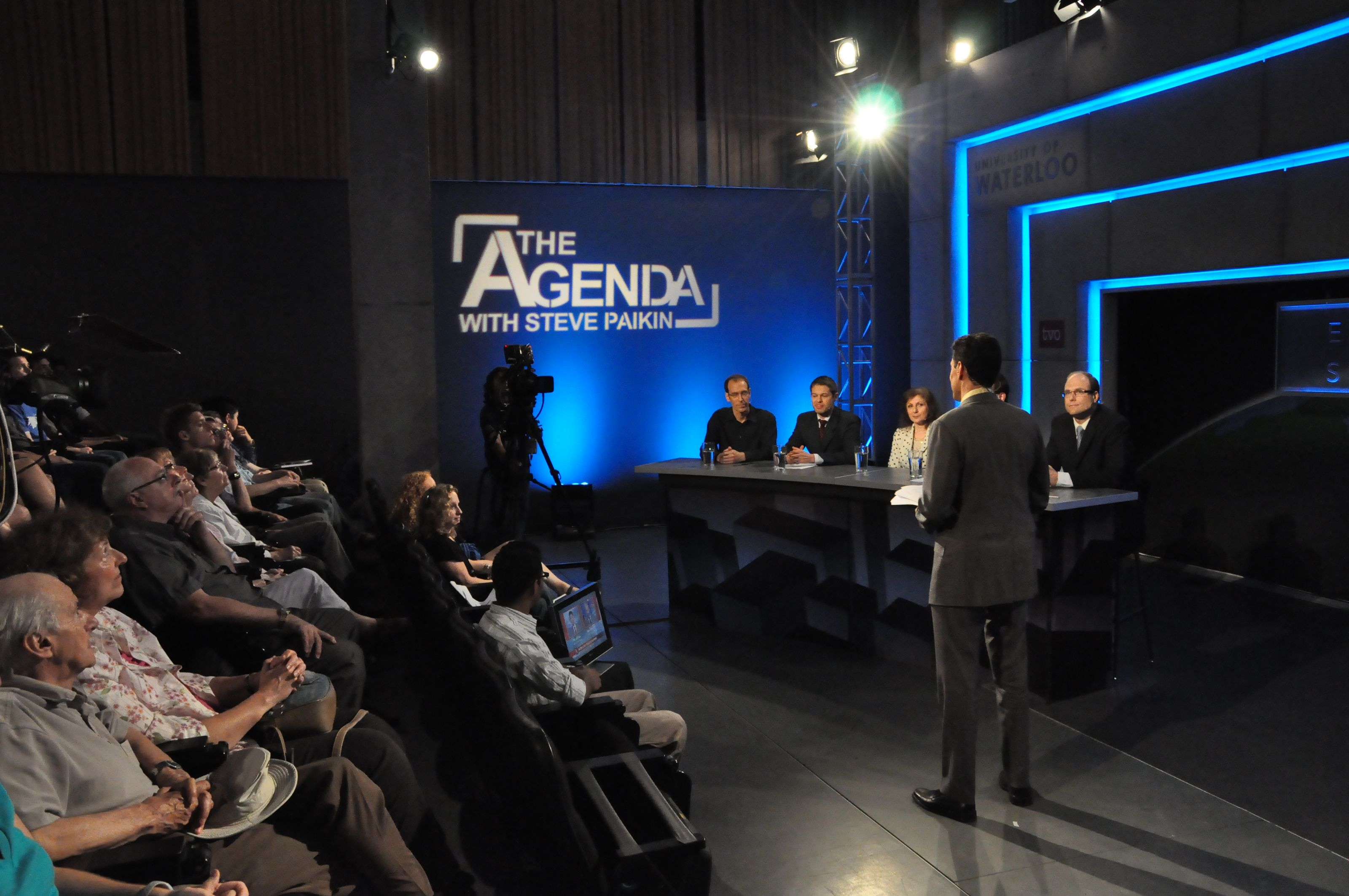 Each evening, Equinox Summit particpants discussed the ideas being developed on TVO's The Agenda, which broadcast live from the venue