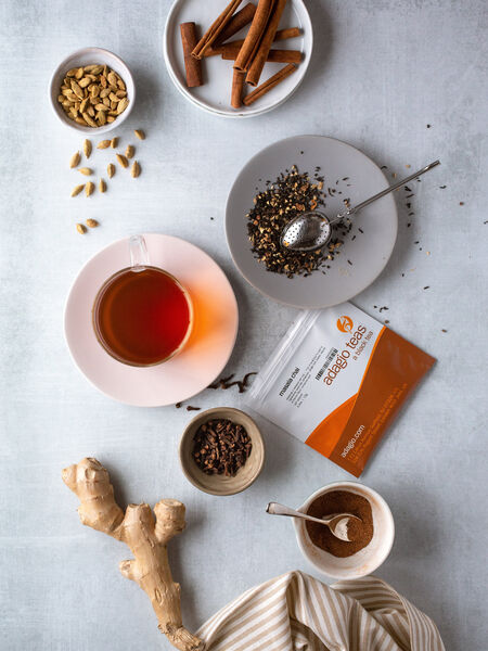 Masala chai, no matter what the recipe, contains three ingredients: tea, spices, and dairy. When combined, this tea warms our bodies and spirits. What could be more perfect as a national beverage for India?
